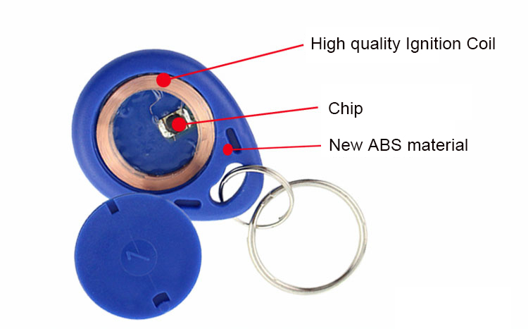 waterproofing RFID keyfob