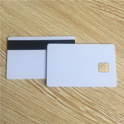 Blank Chip Card with Magnetic Stripe